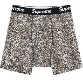 シュプリーム(Supreme)のSupreme×Hanes Leopard Boxer Briefe Lサイズ(ボクサーパンツ)