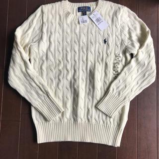ラルフローレン(Ralph Lauren)の新品 ラルフローレン ケーブル ニット セーター 160(ニット)