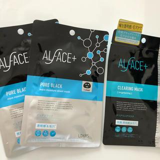 ALFACE+ オルフェス ピュアブラック クリアリングマスク(パック/フェイスマスク)