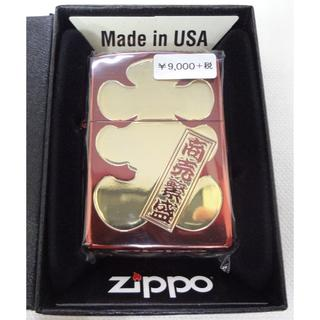 ジッポー(ZIPPO)の新品 ZIPPO 漢字 大入り イオンコーティング レッド  定価9720円(タバコグッズ)