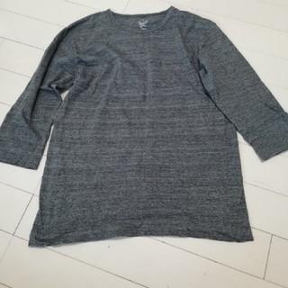 美品無印良品七分袖Tシャツsale