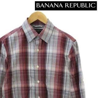 バナナリパブリック BANANA REPUBLIC チェック シャツ