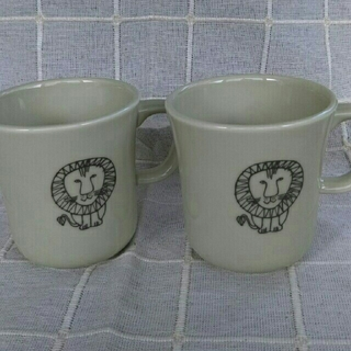 リサラーソン(Lisa Larson)のリサラーソン  マグカップ  2個セット(マグカップ)