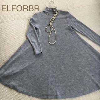 エルフォーブル(ELFORBR)のテッド様専用 値下げ ELFORBR ワンピース38(ひざ丈ワンピース)