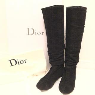 クリスチャンディオール(Christian Dior)の✨希少!!正規品、ディオール、ロングブーツ✨(ブーツ)