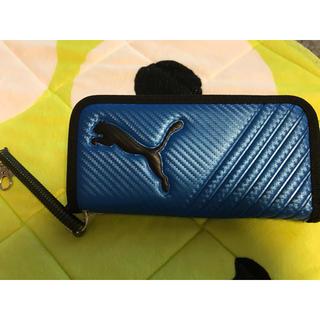 PUMA - プーマ🎗PUMA🎗ロングウォレット💙財布💙ブルー