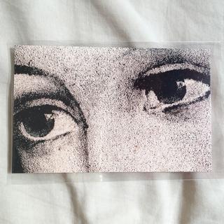 アッシュペーフランス(H.P.FRANCE)のJohn Derian ジョンデリアン ポストカード ② 目 顔(切手/官製はがき)