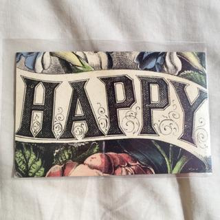 アッシュペーフランス(H.P.FRANCE)のJohn Derian ジョンデリアン ポストカード ③ HAPPY ハッピー(切手/官製はがき)