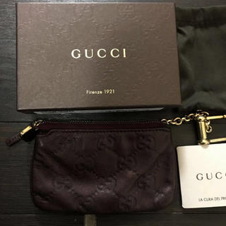グッチ(Gucci)のGUCCI グッチ GG柄 シマ コインケース(コインケース/小銭入れ)