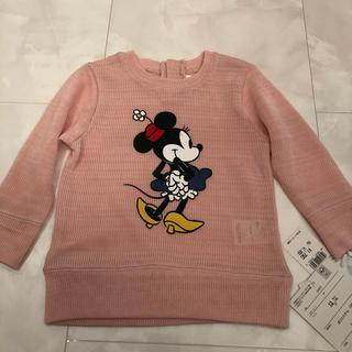 ディズニー(Disney)のディズニー ミニーちゃん 薄手 セーター ニット(ニット)