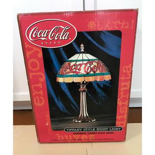 Coca Cola コカコーラ ステンドグラス風 ライト