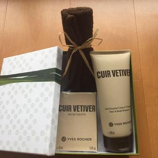イヴロシェ(Yves Rocher)の香水 ヘアー・ボディーソープ BOXセット(香水(男性用))