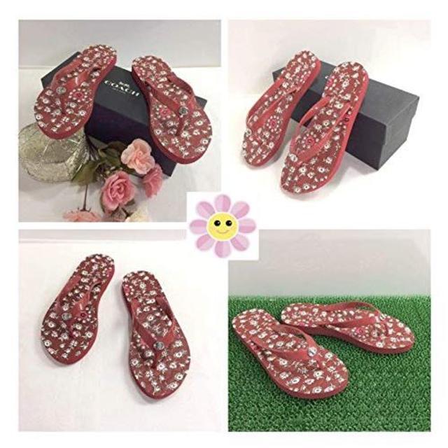 COACH(コーチ)のCOACH Abbigail フリップ フロップ サンダル レディースの靴/シューズ(サンダル)の商品写真