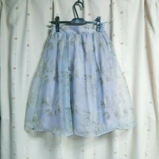ダズリン(dazzlin)の2015♡新品花柄ブーケスカートS(ひざ丈スカート)