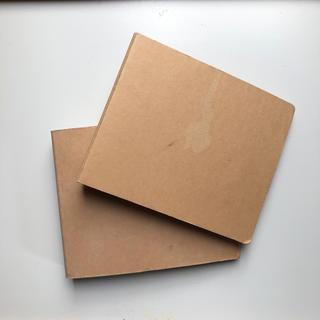 ムジルシリョウヒン(MUJI (無印良品))の無印良品 CD/DVDケース 中古 2冊セット(CD/DVD収納)