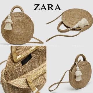ザラ(ZARA)のZARA かごバック(かごバッグ/ストローバッグ)