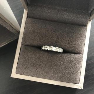 ショーメ(CHAUMET)のショーメ  トルサード マルチ 7ダイヤ リング 定価約46万(リング(指輪))