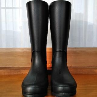 クロックス(crocs)のcrocs 長靴 (黒)(レインブーツ/長靴)