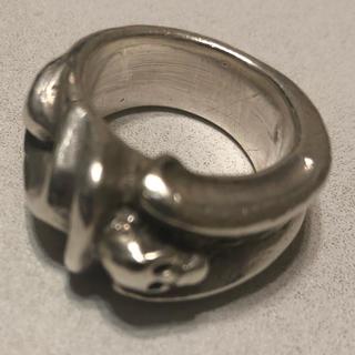ガボール(Gabor)の【GABOR】スモールゴシックスカルリング(リング(指輪))
