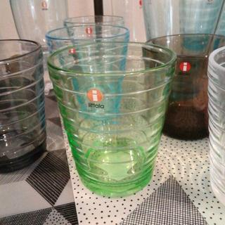 イッタラ(iittala)のイッタラ/アイノ・アアルト/タンブラー/グラス/アップルグリーン/220ml(食器)