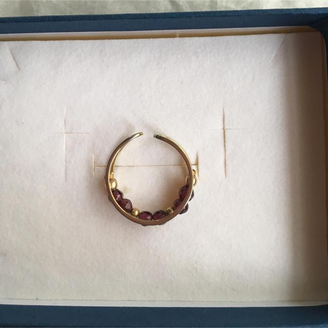 KEIKO k's selection  レッドガーネット : リング レディースのアクセサリー(リング(指輪))の商品写真