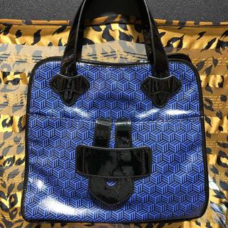 ティラマーチ(TILA MARCH)の美品 ティラマーチ ハンドバッグ トート ブルー系 TILA MARCH(トートバッグ)