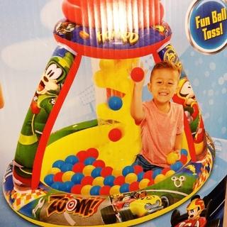 【新品】ボールプール ディズニー プレイランド カラフルボール50個