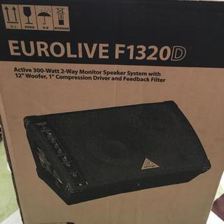 BEHRINGER  F1320D パワードスピーカー 2個セット(スピーカー)