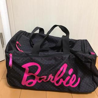 バービー(Barbie)のバービー ボストンバッグ(カート付き)(ボストンバッグ)