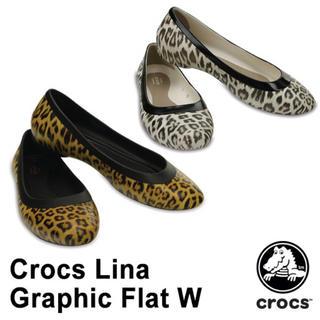 46296b3175aab7 クロックス(crocs)のフラットシューズ レオパード(ハイヒール/パンプス)