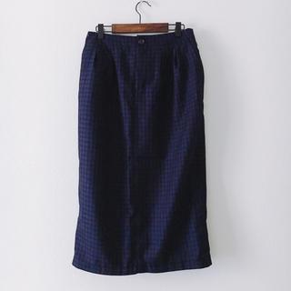 オキラク(OKIRAKU)の美品:OKIRAKU オキラク/セミロングスカート(ひざ丈スカート)