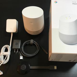 アンドロイド(ANDROID)のあやんちゃん様専用 Google Home  Chromecast セット(スピーカー)