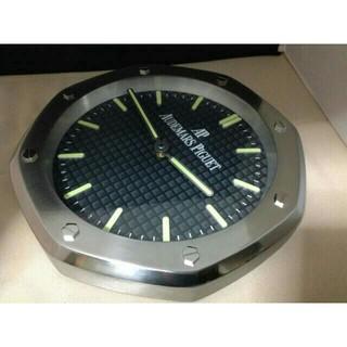 AP オーデマピゲ 黒銀 掛け時計 新品