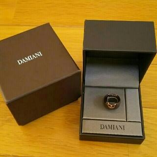 ダミアーニ(Damiani)のダミアーニ  ダイヤ K18PG×チョコレートブラウン Dアイコンリング(リング(指輪))
