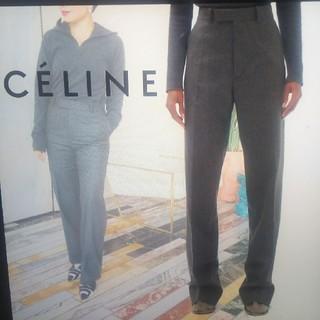 セリーヌ(celine)のceline テーラードパンツ 34(カジュアルパンツ)