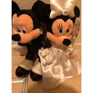 ディズニー(Disney)のミッキー ミニー ウエディング ぬいぐるみ(ウェルカムボード)