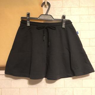 アディダス(adidas)のadidas♡フレアミニスカート ブラック(ミニスカート)