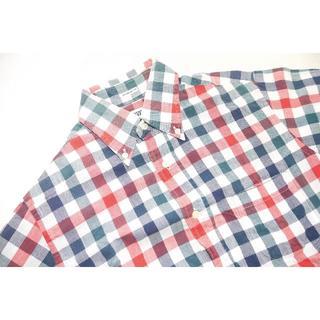 インディヴィジュアライズドシャツ(INDIVIDUALIZED SHIRTS)の♂インディビジュアライズドシャツ チェックプルオーバー141/2 M(シャツ)