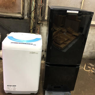 パナソニック 冷蔵庫 洗濯機 2点セット割♪♪地域限定配送無料♪発送も可能です♪