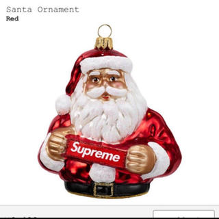 シュプリーム(Supreme)のSupreme/Santa Ornament サンタ (置物)
