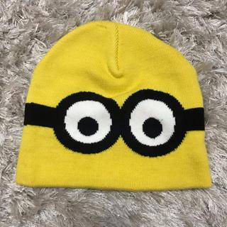 エイチアンドエム(H&M)のミニオン  ニット帽(ニット帽/ビーニー)