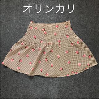 オリンカリ(OLLINKARI)のOLLINKARI オリンカリ チェック ハート スカート(スカート)
