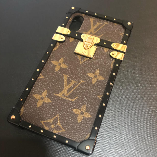 LOUIS VUITTON - アイトランク ルイヴィトン iPhoneXの通販 by らいち's shop|ルイヴィトンならラクマ