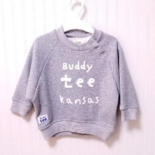 バディーリー(Buddy Lee)のBuddy Lee♥️80㎝ 裏起毛 トレーナー トップス 新品 女の子(トレーナー)