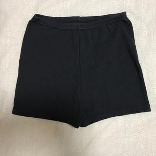 しまむら - 3/24まで・美品・一分丈パンツ 160サイズ・黒