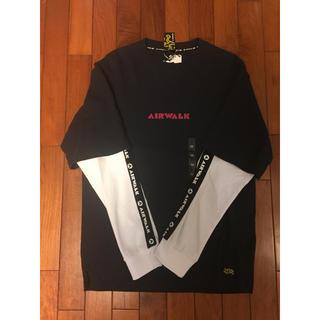 エアウォーク(AIRWALK)の新品 エアウォーク ロンT 紺色(Tシャツ/カットソー(七分/長袖))
