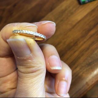 ポンテヴェキオ(PonteVecchio)の美品 ポンテヴェキオ ハーフエタニティリング(リング(指輪))