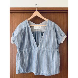 ノンブルアンベール(nombre impair)のNOMBRE IMPAIR shirt(シャツ/ブラウス(半袖/袖なし))