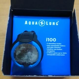 アクアラング(Aqua Lung)のAQUA LUNG ダイブコンピューターi100 新品未使用(マリン/スイミング)