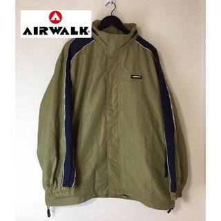 エアウォーク(AIRWALK)のAIR WALK エアウォーク ナイロンジャケット オリーブ系 3L(ナイロンジャケット)